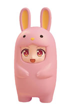 Image: Nendoroid More Pink Rabbit Face Parts Case  - Good Smile Company