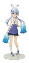 Image: Is the Order a Rabbit PVC Figure: Chino  (Cheerleader version) (1/7 Scale) - Chara-Ani