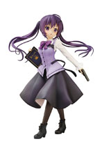 Image: Is the Order a Rabbit PVC Figure: Rize  (Cafe Style) (1/7 Scale) - Plum
