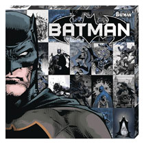 Image: DC Metallic Canvas Art: Batman Profile  - Cohen Hazan Group LLC
