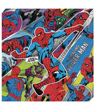 Image: Marvel Metallic Canvas Art: Spider-Man Action  - Cohen Hazan Group LLC