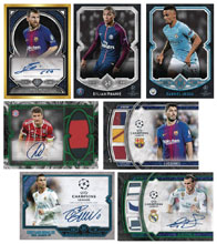 Image: Topps 2018 UEFA Champions League Soccer Card Box  - Topps Company