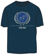 Image: Star Trek T-Shirt: United Federation of Planets  (XL) - Mighty Fine