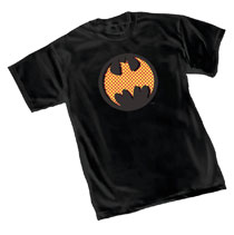 Image: Batman T-Shirt: Benday Symbol  (L) - Graphitti Designs