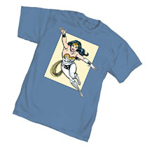 Image: Wonder Woman T-Shirt: Sketch  (S) - Graphitti Designs
