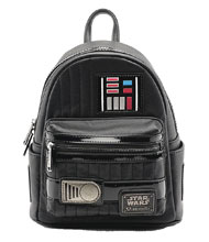 Image: Loungefly Star Wars Mini-Backpack: Darth Vader Cosplay  - Loungefly
