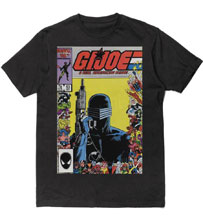 Image: G.I. Joe T-Shirt: Snake Eyes [Black]  (XL) - Fifth Sun