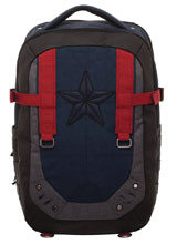 Image: Captain America Built-Up Backpack  - Bioworld Merchandising