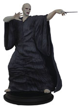 Image: Harry Potter 8-Inch Polystone Statue: Lord Voldemort  - Icon Heroes