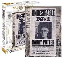 Image: Harry Potter 1000-Piece Puzzle: Harry Potter - Undesirable No. 1  - NMR Distribution America