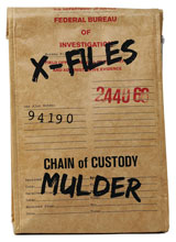 Image: X-Files Evidence Bag Lunch Tote  - Crowded Coop