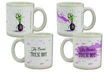Image: Tim Burton Toxic Boy Heat-Sensitive Mug  - Dark Horse