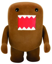Image: Domo 4-inch Flocked Vinyl Figure: Classic Brown  -