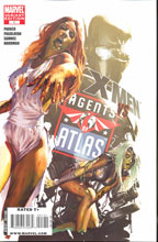 Image: X-Men vs. Agents of Atlas #1 (Zombie variant) -