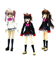 Image: Mobip #2 Little Busters Rin Natsume PVC Figure  -