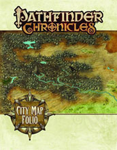 Image: Pathfinder Chronicles: City Map Folio  - Paizo Publishing LLC