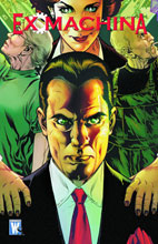 Image: Ex Machina Vol. 10: Term Limits SC  - DC Comics - Wildstorm
