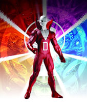 Image: Brightest Day Series 1 Action Figure: Deadman  - DC Direct