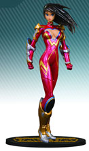 Image: Ame-Comi Heroine Series PVC Statue: Donna Troy as Wonder Girl  - DC Direct
