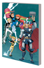 Image: Thor and The Warriors Four Digest SC  - Marvel Comics