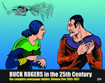 Image: Buck Rogers in the 25th Century Dailies Vol. 05: 1935-1936 HC  - Hermes Press