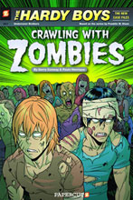 Image: Hardy Boys New Case Files Graphic Novel 01: Crawling With Zombies SC  - Papercutz