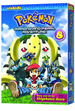 Image: Pokémon: Diamond & Pearl Adventure Vol. 08 SC  - Viz Media LLC