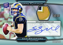 Image: Topps 2010 Platinum Football Card Box  - Topps Company