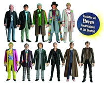 Image: Doctor Who: The 11 Doctors Figure Set  -