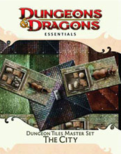 Image: Dungeons & Dragons Essentials: Dungeon Tiles Master Set - The City  - Wizards of the Coast