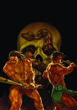 Image: Kull: The Cat & the Skull #1 (Chen cover) - Dark Horse