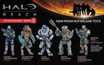 Image: Halo Reach Series 5 Weapon Pack 1 Action Figure Case  - Image Comics
