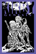 Image: Kirby: Genesis #5 (15-copy Sook B&W incentive cover) (v15) - D. E./Dynamite Entertainment