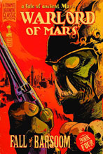 Image: Warlord of Mars: Fall of Barsoom #4 (25-copy Francavilla incentive cover) (v25) - D. E./Dynamite Entertainment