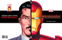 Image: Invincible Iron Man Origin Story HC  (young readers) - Marvel Press