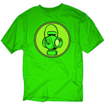 Image: Green Lantern: Lamp Icon PX T-Shirt [kelly green]  (M) - Previews Exclusive Wear