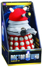 Image: Doctor Who Talking Soft Toy: Red Dalek  -