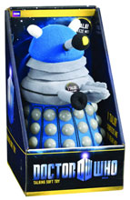 Image: Doctor Who Talking Plush: Blue Dalek  -