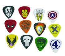 Image: Marvel Guitar Pick Pack: Classic  -