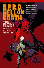 Image: B.P.R.D. Hell on Earth Vol. 04 : The Devils' Engine & the Long Death SC  - Dark Horse Comics