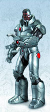 Image: Justice League DC Comics New 52 Action Figure: Cyborg  - DC Direct