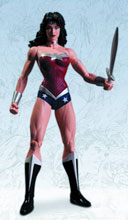 Image: Justice League DC Comics New 52 Action Figure: Wonder Woman  - DC Direct