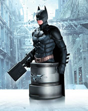 Image: Dark Knight Rises Bust: Batman with Emp Rifle  - DC Direct