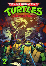 Image: Teenage Mutant Ninja Turtles Adventures Vol. 02 SC  - IDW Publishing