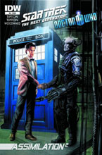 Image: Star Trek: TNG / Doctor Who - Assimilation2 #6 - IDW Publishing