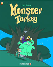 Image: Monster Turkey HC  - Papercutz