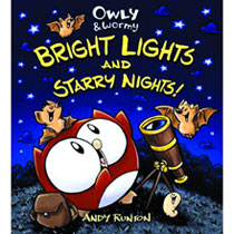 Image: Owly & Wormy: Bright Lights & Starry Nights! HC  - Top Shelf Productions