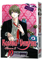 Image: Rosario+ Vampire Season II Vol. 10 SC  - Viz Media LLC