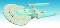 Image: Star Trek Enterprise-B Ship  - Diamond Select
