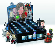 Image: Doctor Who Titans Mini-Figure 20-Piece Blind Mystery Box Display  - Doctor Who Import Toys & Models